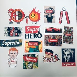 15 Supreme Stickers